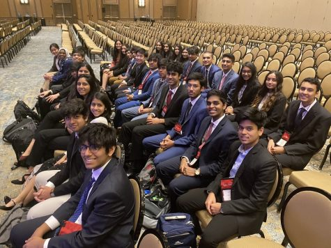The Coppell High School BPA chapter placed in the top 10 in 21 events at the Texas State Leadership Conference (SLC), where students' business knowledge were tested through various events. The SLC was on March 5-7 at the Sheraton Hotel in Dallas. Photo courtesy Varshini Suresh.