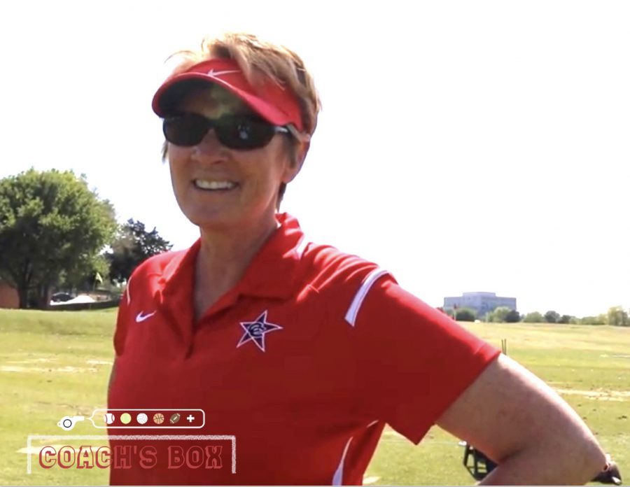Coppell golf coach Jan Bourg talks about her interests and hobbies during a video interview with the 2017-18 Sidekick staff. Bourg is also an AP Calculus teacher and licensed scuba diver.