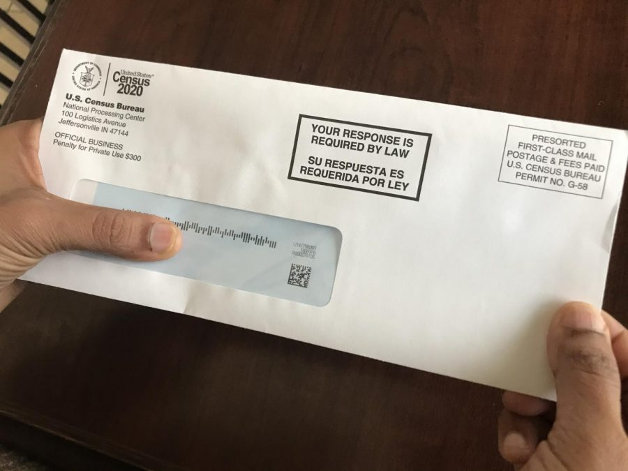 The 2020 Census self-response deadline has been postponed from July 31 to Aug. 14. The census is sent out every 10 years and it collects data used to form congressional alignments and federal funding distribution. Photo by Laasya Achanta.