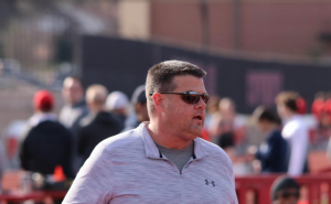 The National Federation of State High School Texas Boys Outdoor Track & Field Coach of the Year was awarded to Coppell coach Karl Pointer for the 2019 season. Pointer finds Christianity as a backbone to coaching. Photo courtesy Laurel Pointer.