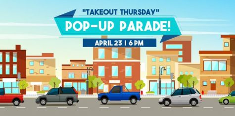 The City of Coppell is hosting a pop-up parade at 6 p.m. today to support local businesses. Residents are encouraged to order takeout from a local restaurant and watch the parade go by on Denton Tap from their cars. Photo Courtesy City of Coppell