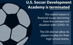 The U.S. Soccer Development Academy was an elite youth soccer program spanning 200 teams, including girls teams, prior to its termination on April 15. Multiple Coppell High School students competed for the league, meaning they were unable to play for their high school soccer team.