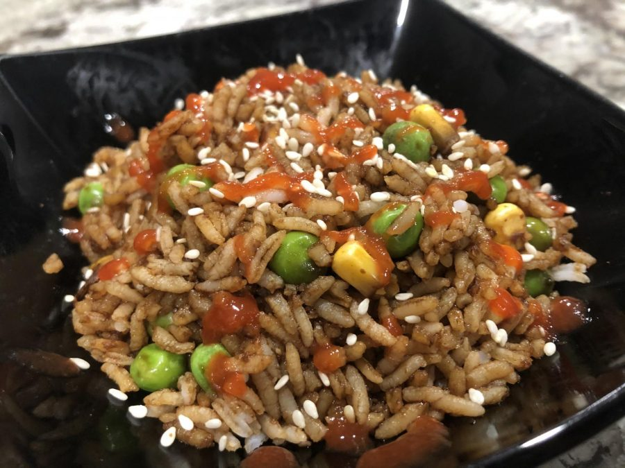Vegetable fried rice is the perfect dinner for an amatuer chef. The ingredients are accessible and delicious.