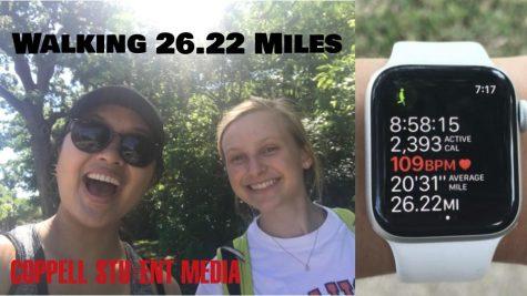 Isolation workouts: Walking 26.22 miles