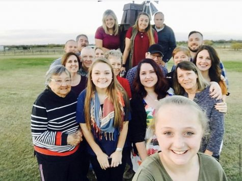 Denton resident Jean Reed, grandmother of Coppell High School special education teacher Brooke Coch, stands with several other family members. Reed died on April 10 of coronavirus, leaving behind a legacy of standing by and taking care of her family and loved ones.