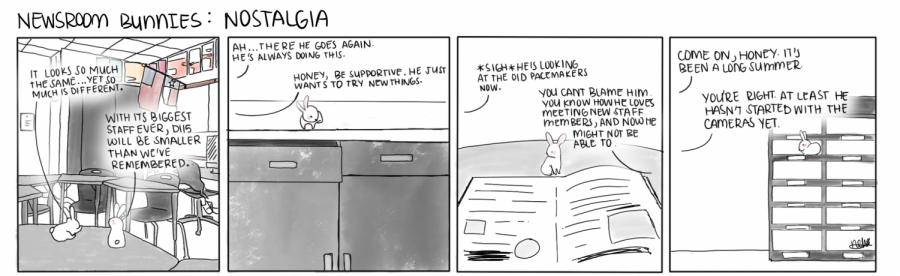 Newsroom Bunnies #1: