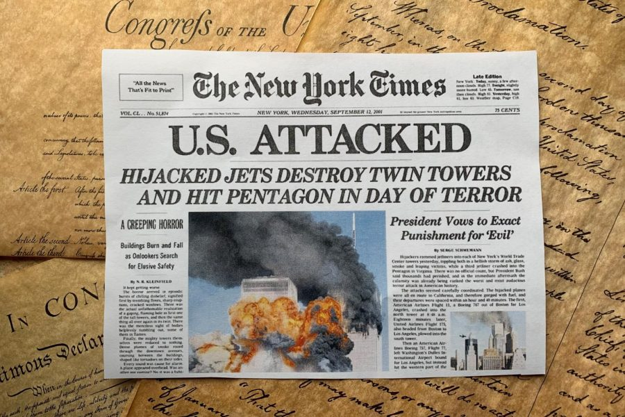 Today marks the 19th anniversary of the terrorist attacks on Sept. 11, 2001. The Sidekick executive editor-in-chief Sally Parampottil feels her perspective on the tragedy is less emotion-based because she did not experience it and resembles more of that felt towards any other pivotal event in American history.