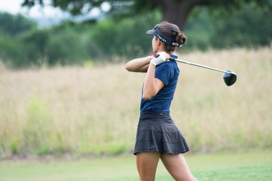 Coppell senior Chelsea Romas earns a full golf scholarship to Texas Tech. Romas plans to major in business and finance along with playing golf. Photo courtesy Chelsea Romas.