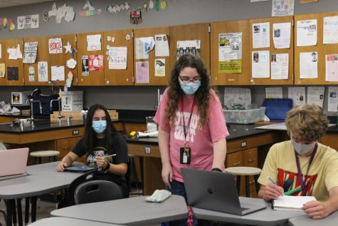 Teacher of the Issue: Sheppard working in her element within chemistry department