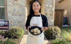 Coppell High School sophomore Isabelle Beach raised around $1,200 in donations for the North Texas Food Bank over the summer by selling her baked goods to her community. Beach provided 7,200 meals to those in need in the North Texas area.