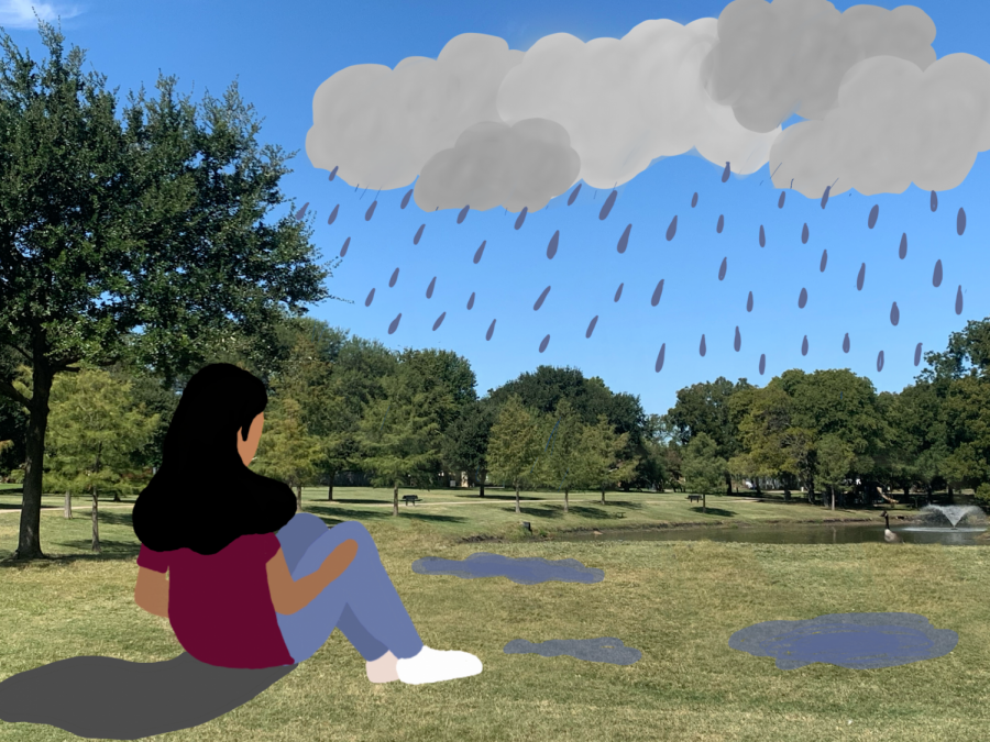 Executive enterprise editor Shreya Beldona believes rain should be viewed as a positive despite its negative connotations. Beldona argues that rain is more than mundane weather; it is a source of strength for the day.