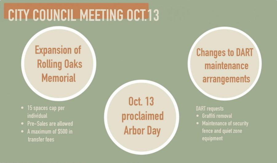 The Coppell City Council hosted a virtual meeting this Tuesday. This meeting discussed the transfer and pre-sale fees for the Rolling Oaks Memorial Center, along with the changes in the DART maintenance arrangements.
