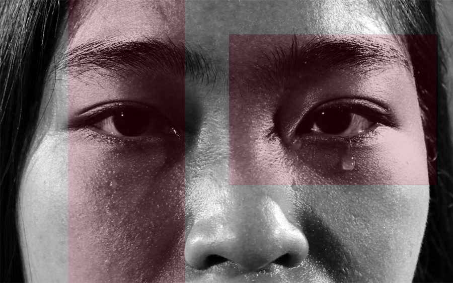 Crying+is+stigmatized+in+society+and+is+often+perceived+as+a+sign+of+weakness.+The+Sidekick+photo+assignment+editor+Tracy+Tran+believes+the+stigma+around+crying+in+public+should+be+removed.+Photo+illustration+by+Sally+Parampottil%0A