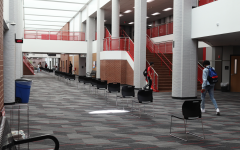Coppell High School and the Coppell High School Ninth Grade campus are moving to remote learning only from tomorrow to Nov. 18. Aramark custodial services will be deep cleaning both campuses as in person learning resumes on Nov. 19. Photo by Samantha Freeman