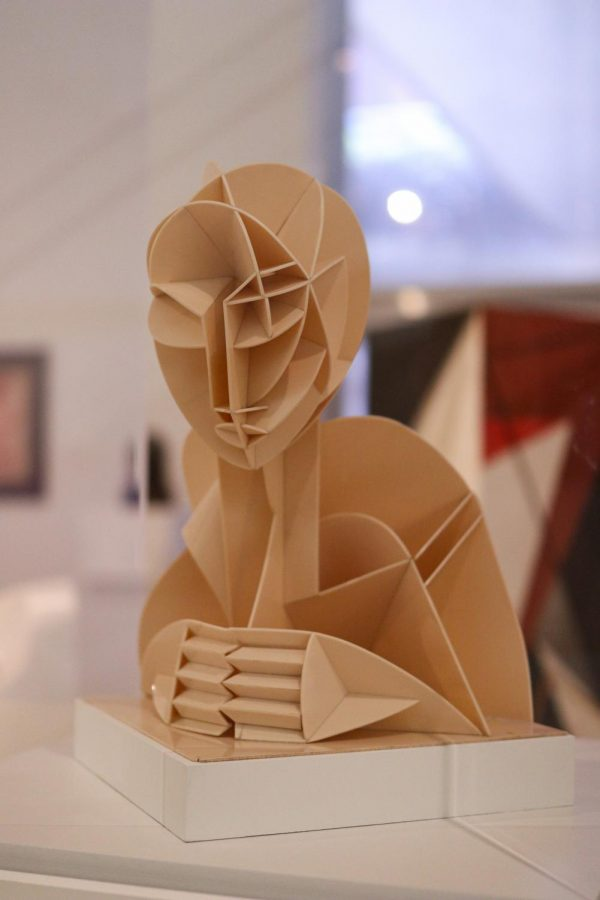 """""""Constructed Head No. 2"""" by Naum Gabo is located in the European Art section of the Dallas Museum of Art on March 28. The DMA is open from 11 a.m. to 5 p.m. Sunday through Friday and 11 a.m. to 7 p.m. on Saturday."""