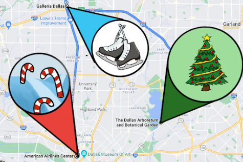 Celebrating winter season with outdoor DFW holiday attractions