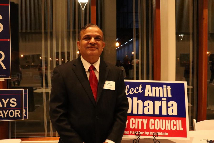 Amit Dharia is running for Place 4 on the Coppell City Council. Dharia has lived in Coppell for 24 years and hopes to make Coppell more financially stable and socially vibrant.