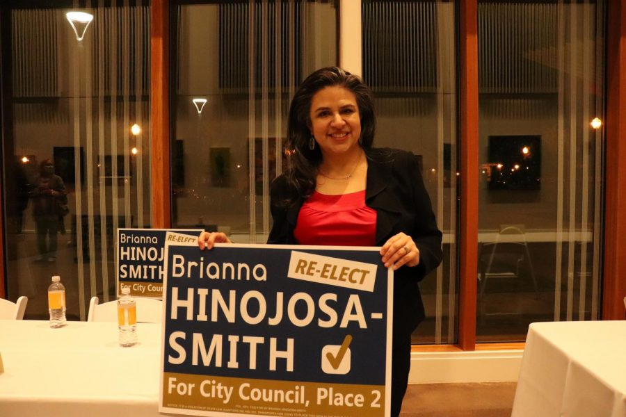 Coppell City Council Place 2 Brianna Hinojosa-Smith is running for re-election. She has been a Coppell resident for 19 years and has served on Teen Court and the Coppell Education Foundation.