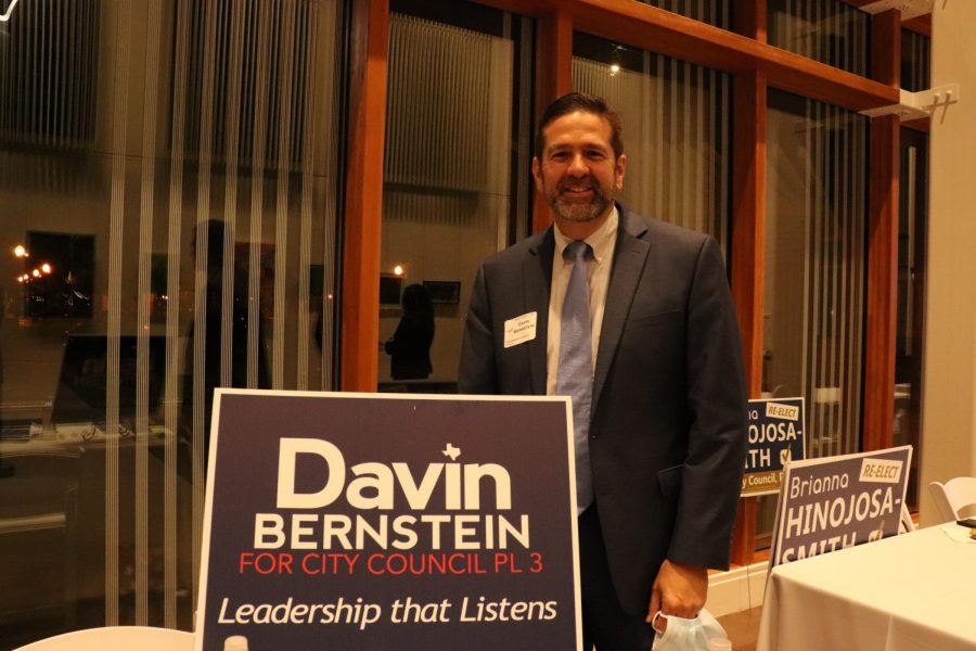 Davin Bernstein is running for Place 3 on the Coppell City Council. Bernstein is a Leadership Coppell graduate and participates in Allies in Community.