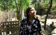 New Tech High @ Coppell sophomore Vibha Radhakrishnan spends the morning at the Dallas Zoo on April 18. Radhakrishnan has been volunteering weekly as a part of the Zoo Crew volunteer program since 2017, where her role volunteering primarily includes educating guests about the animals and cleanup duty.