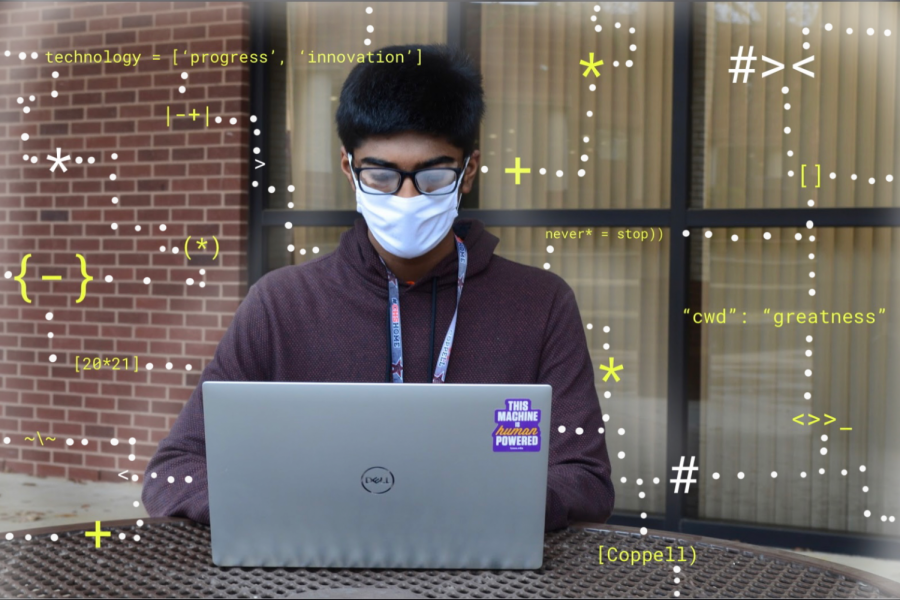 Coppell High School junior Hari Srikanth delivers lectures at Artificial Intelligence Club meetings on Monday afternoons via Zoom. The AI Club has been making strides in the past two years to introduce students to coding through workshops, open discussions and guest speakers.
