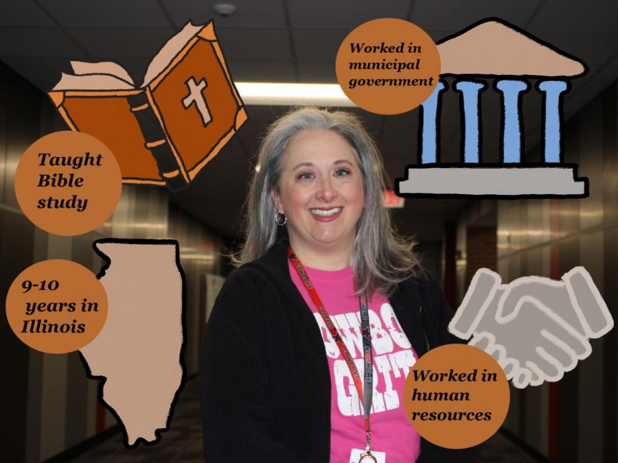 Coppell High School AP psychology teacher Kristia Leyendecker has worked at Coppell ISD since 2014. Leyendecker was inspired to get her teaching degree through her nine to 10 years of working in municipal government in Illinois, responsibilities in Human Resources and teaching Bible study.