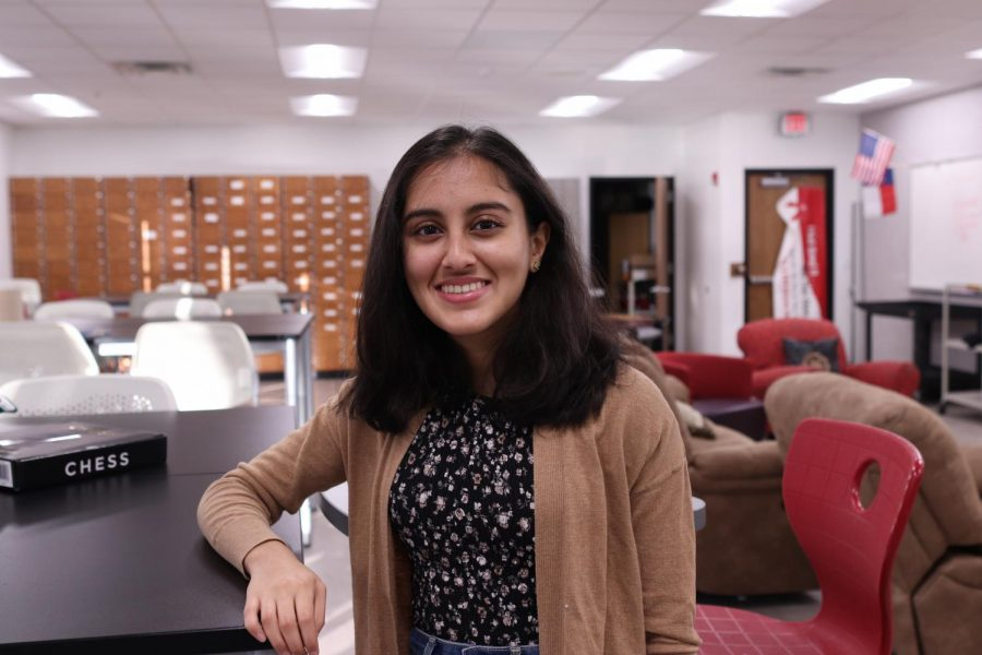 Coppell High School junior Poojitha Diggikar is the Student Council vice president for the class of 2022. Diggikar works with her peers to improve CHS during the pandemic.