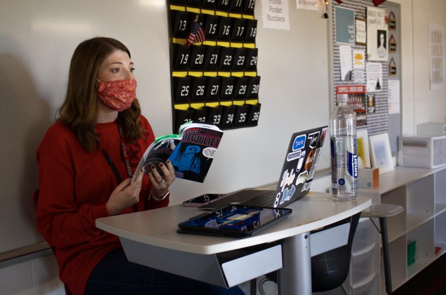 CHS9 December Teacher Spotlight nurtures individuality in students