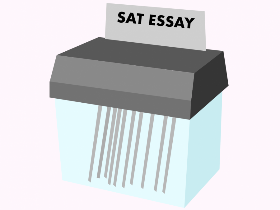 Due+to+COVID-19%2C+the+College+Board+has+decided+to+eliminate+the+essay+portion+of+the+SAT+as+well+as+SAT+subject+tests.+After+June%2C+the+essay+will+no+longer+be+offered+in+an+effort+to+make+the+standardized+test+more+cheaper+to+lower+income+students.