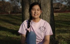Coppell High School senior Rachel Sun established the Hair for Hope Club in August at CHS to donate hair to organizations such as Wigs for Kids. Sun fundraises by creating and selling hair accessories. Photo by Angelina Liu