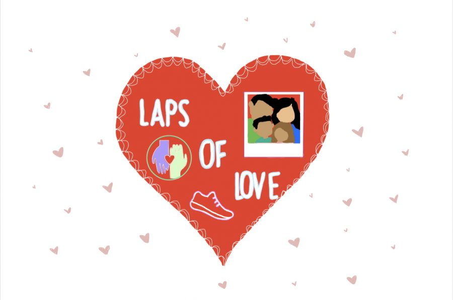 Laps+of+Love+is+a+charity+walk+taking+place+on+Saturday+inside+the+Coppell+High+School+building+to+show+support+for+grieving+staff.+Donations+can+be+made+in+lump+sum+or+based+on+how+many+laps+individuals+walk+and+will+go+to+the+Grief+and+Loss+Center+of+North+Texas.