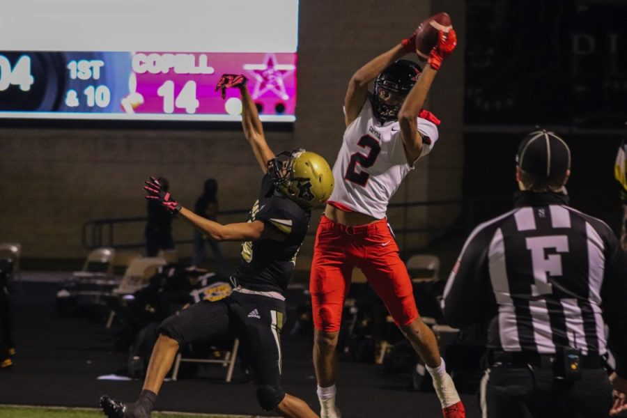 Coppell junior wide receiver Anthony Black was selected first team offense All-District 6-6A team.