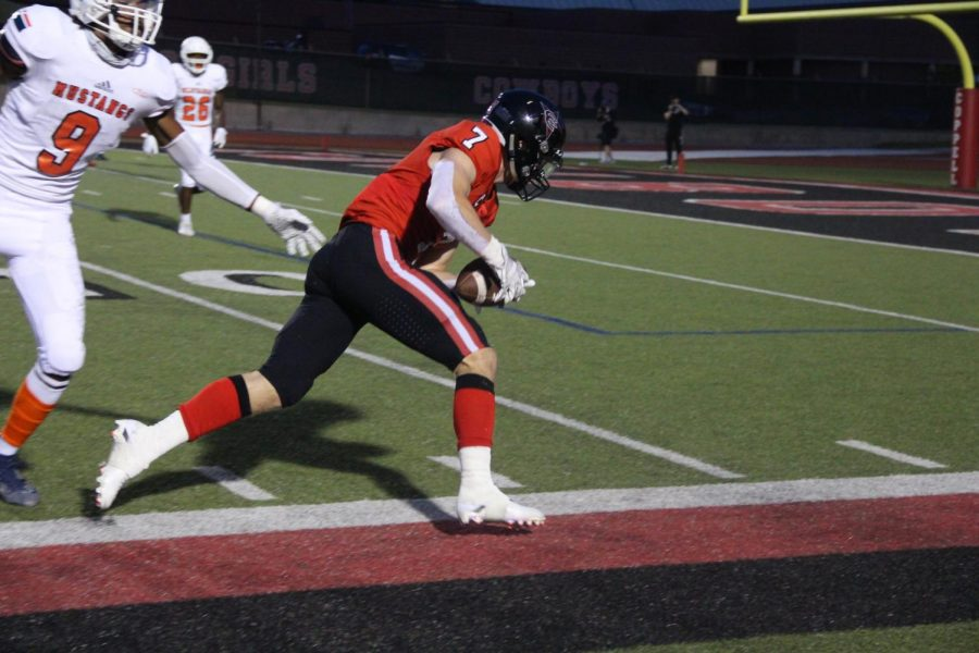Coppell senior wide receiver Gavin Osteen received honorable mention for offense in All-District 6-6A.