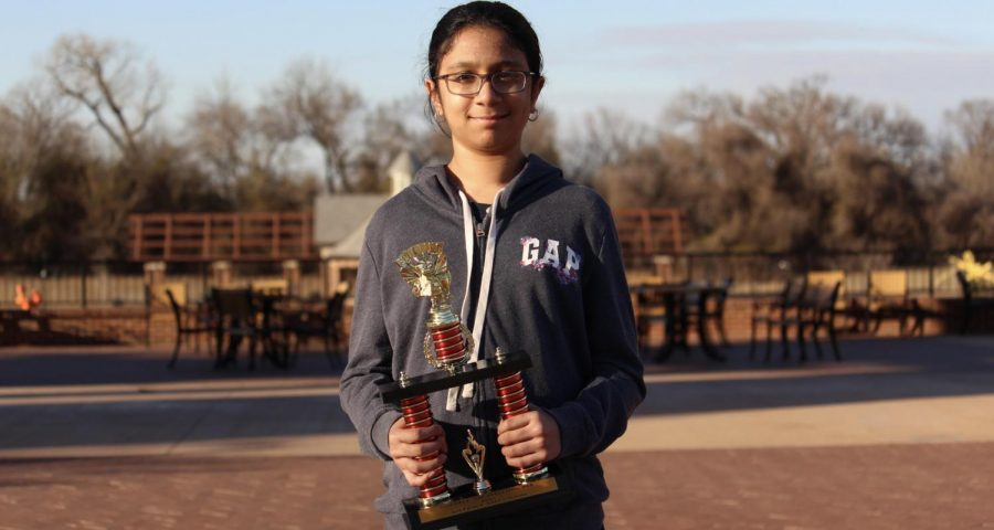 Denton Creek Elementary fifth grade Coppell ISD Spelling Bee champion Sriya Gomatom made history as one of the first CISD winners from an elementary level. Gomatom will move onto the Dallas County Spelling Bee on Feb.19 at the Vonita White Administration Building Boardroom.