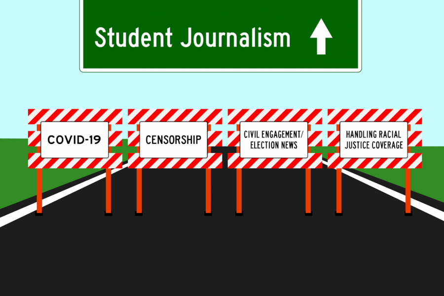 Today marks the last day of Student Journalism Week, which is Student Press Freedom Day. The Sidekick's Varshitha Korrapolu outlines the challenges student journalists face such as censorship, COVID-19, handling racial justice coverage, and civil engagement/election news.