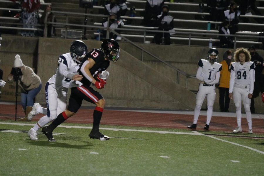 Coppell senior wide receiver DJ Kiselak received honorable mention for offense in All-District 6-6A.
