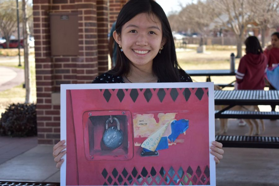 Coppell High School senior Yiwei Shen is a multi talented artist in both drawing and music. Shen receives Student of the Week for being in the top five percent while using her work ethic and creativity.