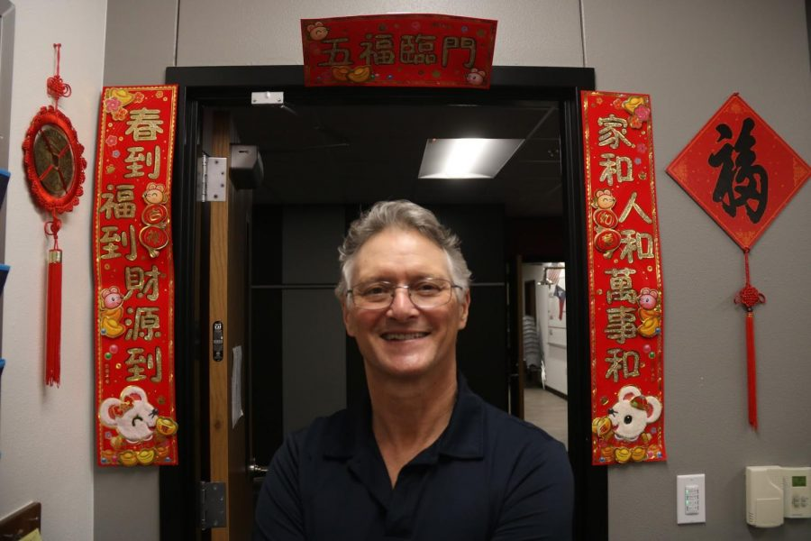 Coppell High School ESL facilitator Timothy Watson has taught English in China and Taiwan for 15 years. After facing challenges due to language and cultural barriers, Watson uses his experience as he teaches at CHS.