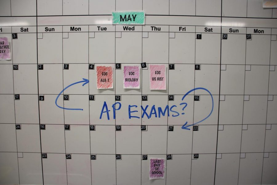 Advanced Placement exams are offering both in person and online options for students to test. Coppell High School sent out a survey to be completed by today's deadline.