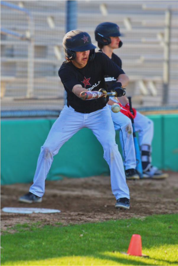 Coppell senior outfielder/pitcher Will Rodman bats at practice on Wednesday at the Coppell Baseball Complex. Will committed to Oklahoma Christian University with his twin, senior infielder/pitcher Sam Rodman, where they will play in the fall.