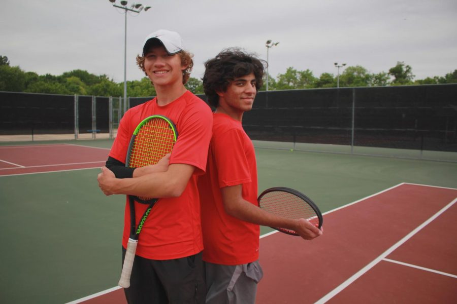 Coppell High School junior Siddarth Bellubbi and New Tech High @ Coppell junior Cason Cole  have been friends since elementary school and doubles partners for 11 years. The pair did taekwondo together before transitioning into playing tennis.