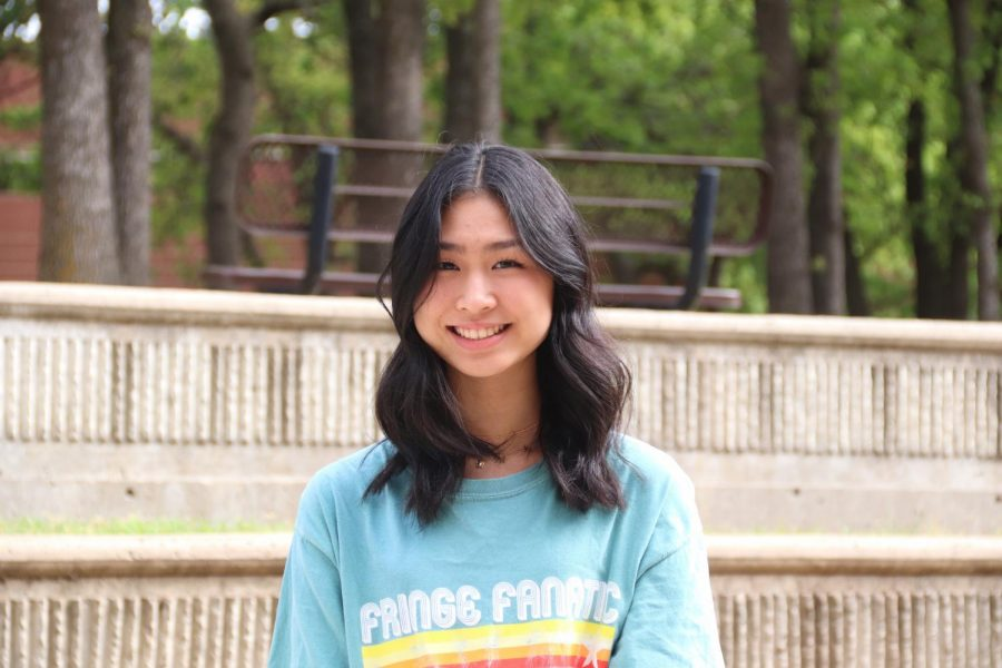 Coppell High School sophomore Emily Chang participated in state finals for the Texas Visual Arts Scholastic Event (VASE) on April 23-24. Chang is one of nine state finalists from Coppell.