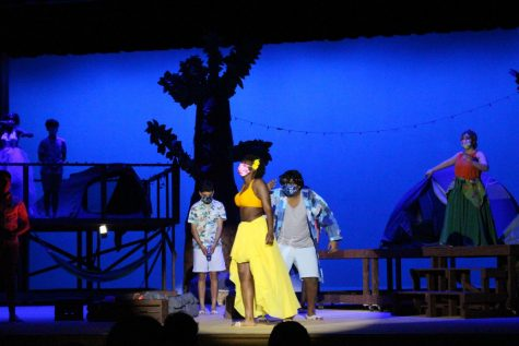 """Coppell High School senior Jadalyn Van plays Ti Moune in the CHS spring musical. """"Once On This Island"""" is showing April 16, 17, 18, 19 and 24 with Fridays and Saturdays at 7:30 p.m. and Sunday matinees at 2:30 p.m."""