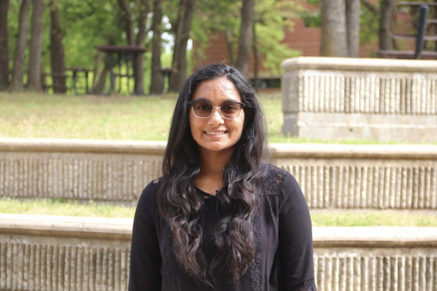 Coppell High School junior Varshni Karthikeyan participated in state finals for the Texas Visual Arts Scholastic Event (VASE) on April 23-24. Karthikeyan is one of nine state finalists from Coppell.