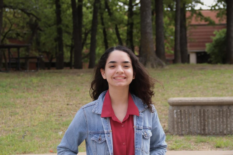 Coppell High School sophomore Amalia Figueroa-Nieves participated in state finals for the Texas Visual Arts Scholastic Event (VASE) on April 23-24. Figuero-Nieves is one of nine state finalists from Coppell