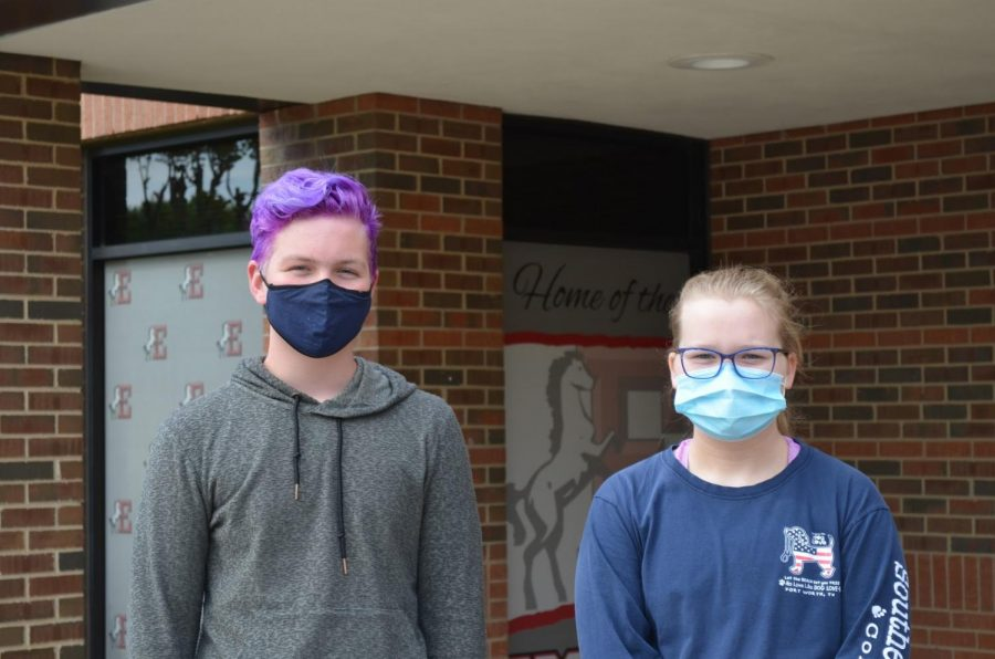 Coppell Middle School East eighth graders Stayton Slaughter and Erin Robins created a petition to change their middle school's main source of energy to solar power on March 31.. Slaughter and Robins took up this project to encourage sustainability efforts in Coppell.
