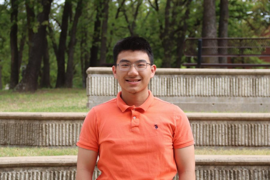 Coppell High School sophomore Jeffrey Wang participated in state finals for the Texas Visual Arts Scholastic Event (VASE) on April 23-24. Wang is one of nine state finalists from Coppell.