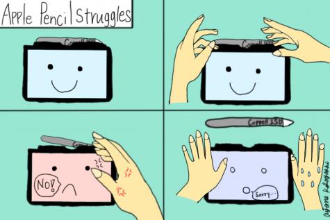Comic: Apple Pencil struggles