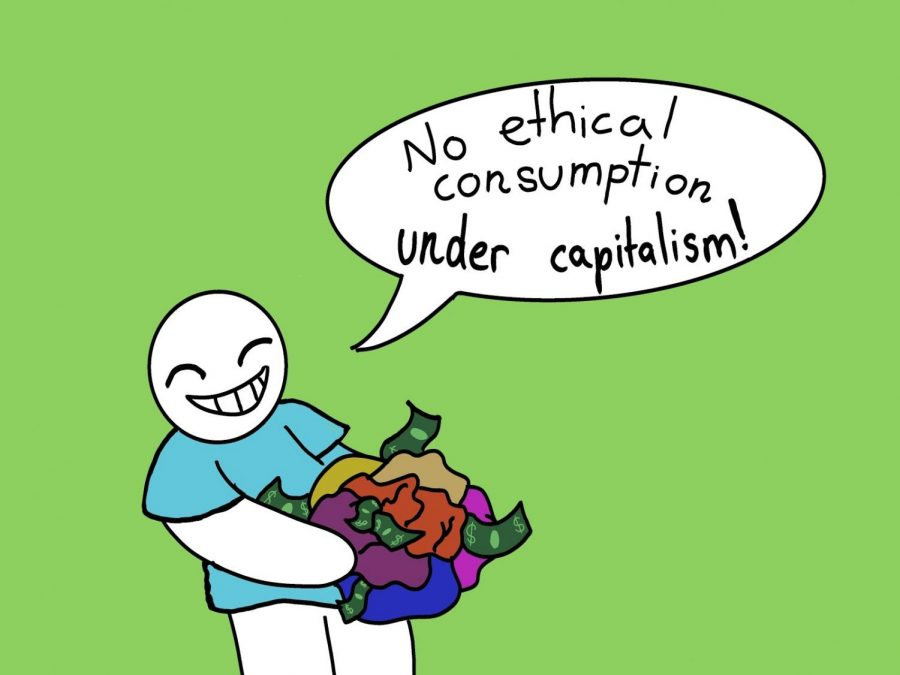 """A common saying when referring to the purchase of products in """"No ethical consumption under capitalism."""" The Sidekick sports editor Anjali Krishna expands on what is truly ethical in the world of capitalism."""