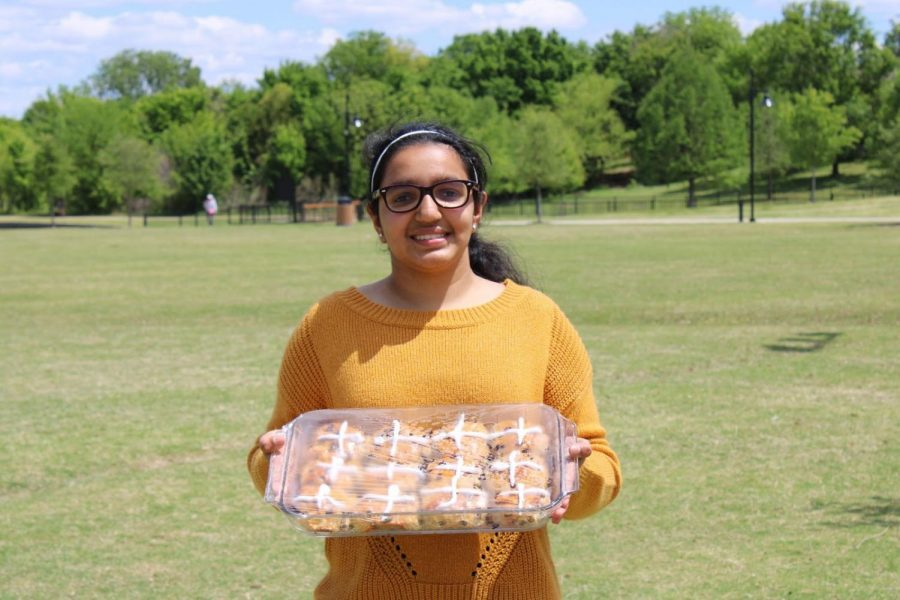 Coppell High School junior Sejal Goyal is the president of the Food for Thought Club and has a passion for spreading culture through food. The club educates youth about culture through a culinary field while giving back to the community.